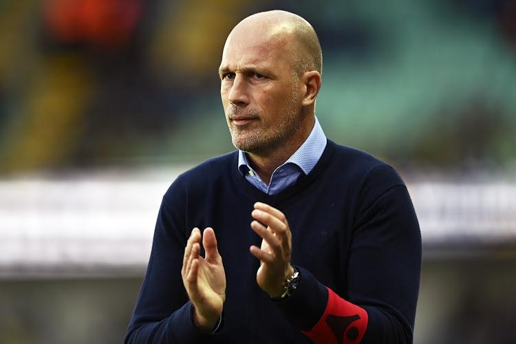 """Philippe Clement: """"Nous aurions dû tuer le match, c'est la meilleure équipe du Cercle depuis longtemps"""""""