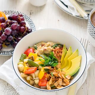Savory Oat Breakfast Bowl
