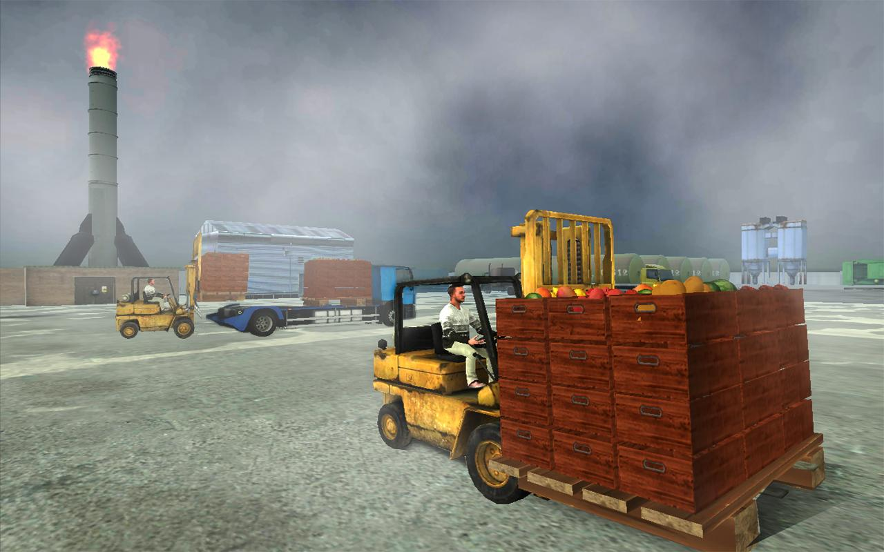 Delivery Truck Simulator 2017: Extreme Forklifting- screenshot