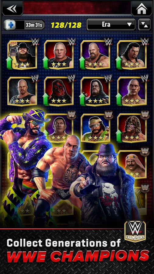 WWE Champions Free Puzzle RPG- screenshot