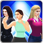 Girl mma fighting clash game