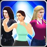 Girl mma fighting clash game