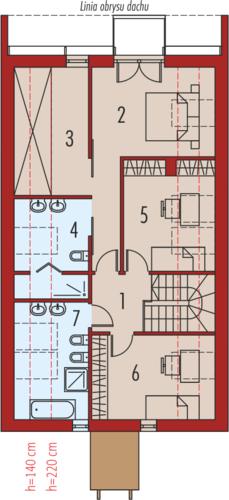 EX 15 II soft - Rzut poddasza