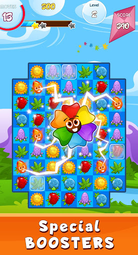 Match 3 game - blossom flowers android2mod screenshots 4