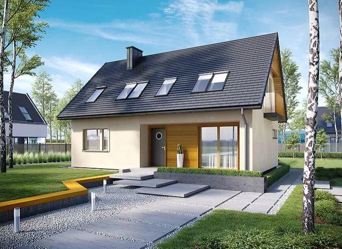 Projekt domu E11 III ECONOMIC
