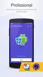 Antivirus Free-Mobile Security: miniatura de captura de pantalla