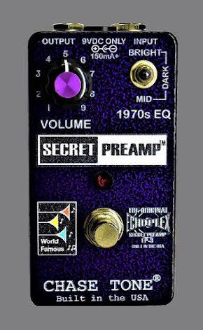 Chase Tone Secret Preamp - Purple