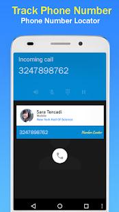 Vyhledávač telefonních čísel - náhled