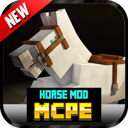 娱乐の馬modのMCPE` LOGO-記事Game