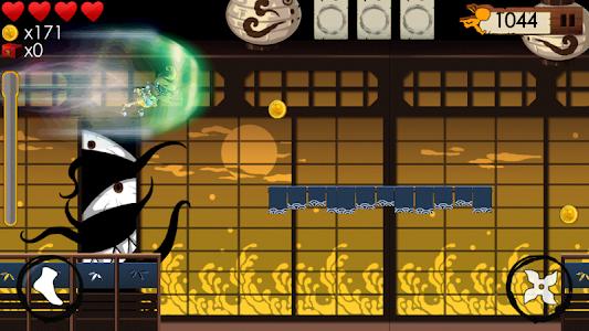 KILL THE NINJA : Bad Guy Run 2 screenshot 2