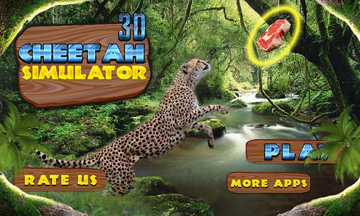 Wild Cheetah Simulator 3D