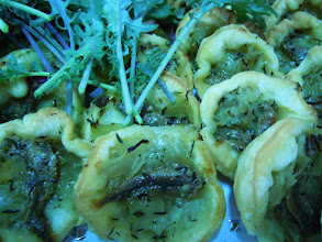 Photo: Pissaladière (anchois & oignons à l'huile d'olives)