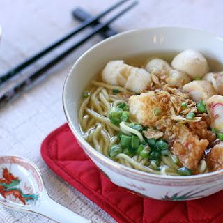 Fishball Noodle Soup