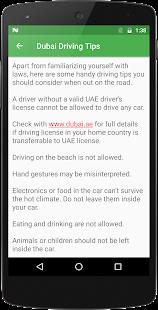Dubai RTA : Violations & Fines - náhled