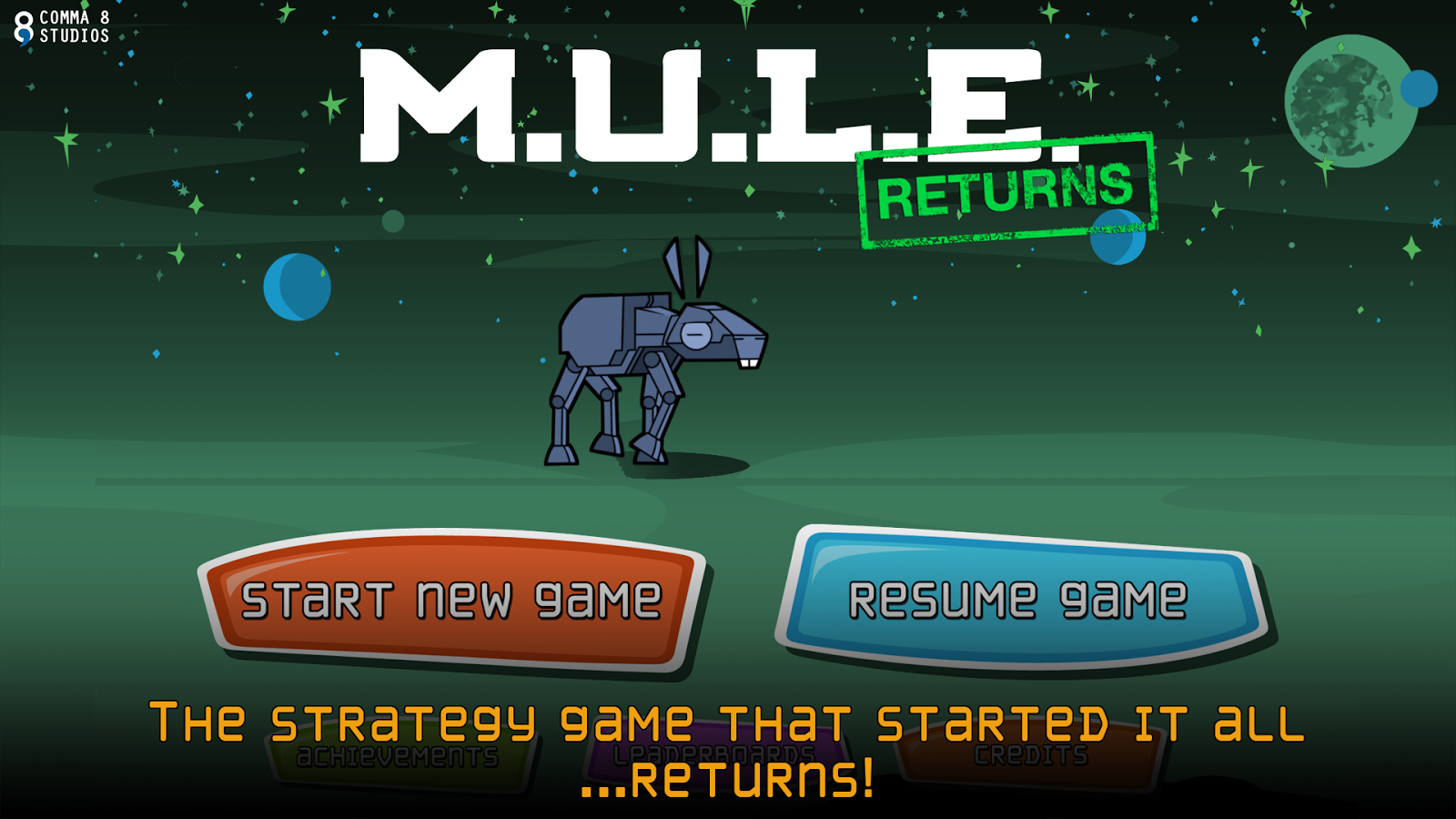 MULE Returns- screenshot