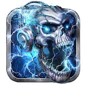 Electric Skull Live Wallpaper