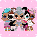 Cute Lol Dolls Wallpapers icon