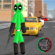 Green Pool Stickman Rope Hero Gangstar Crime