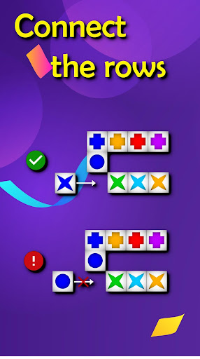 6 tiles in a row: brain trainer game apktram screenshots 3