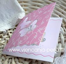 Photo: Detalj pozivnice Happy Butterflies Šifra: 160258 Cijena: 11,90 kn