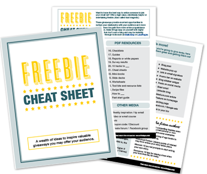 Freebie Cheat Sheet Download