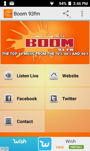 Boom 93 FM  screenshots 1
