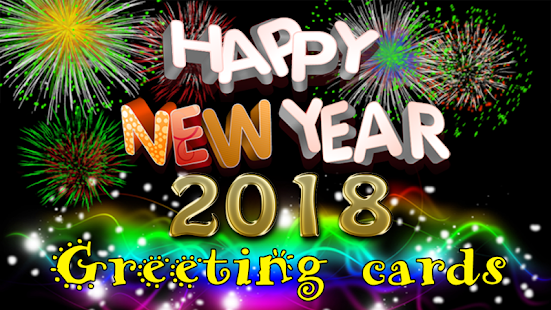 Happy new year 2018 greetings apps on google play screenshot image reheart Choice Image