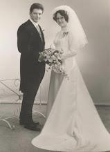 Photo: Bas en Bertha Ippel den Breejen 7 mei 1971.