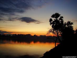 Photo: #012-Coucher de soleil sur Angkor