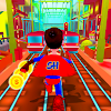 Super Hero Rail Rush Simulator