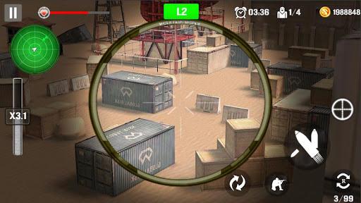 Sniper de tir de montagne  captures d'écran 2