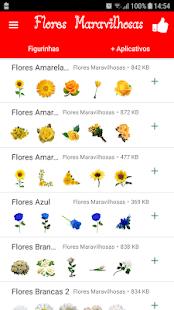Figurinhas Maravilhosas de Flores - WAStickerApps - náhled