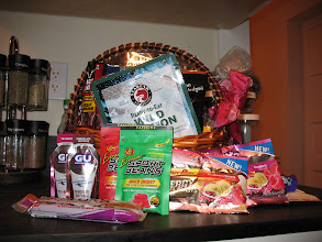 Photo: Jamey's mom gave us all sorts of camp food for Christmas.  I don't think we'll have room to bring it all though.