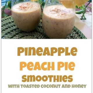 Pineapple Peach Pie Smoothie