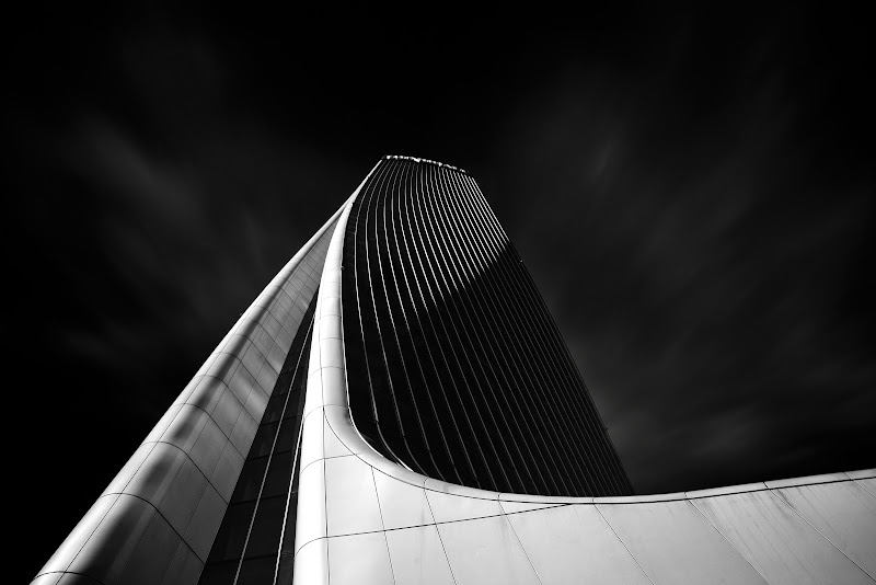 The curved tower di ____Arrivo