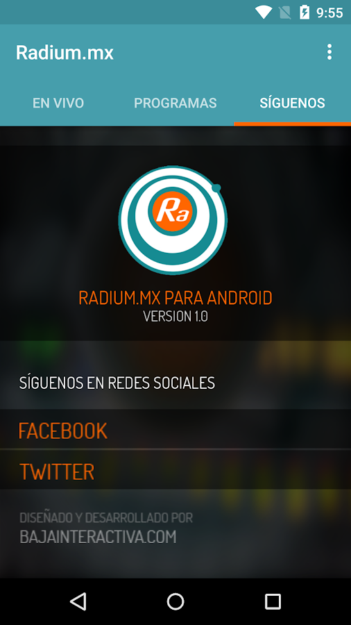 Radium.mx- screenshot