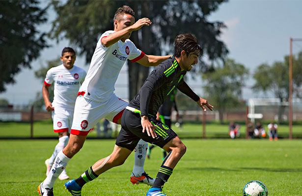México Sub- 23 cayó ante Toluca en juego de preparación