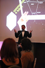 Photo: Maxim Behar - moderator of the C4F awards ceremony