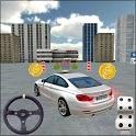 Modern Car Driving Parking 3D Game - Car Games icon