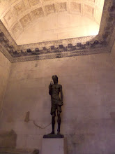 Photo: Diocletian's Temple of Jupiter later became the bapistry in the 11th century.  This is a statue of John the Baptist.
