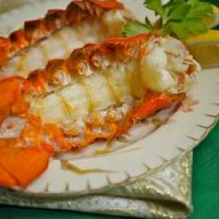 Easy Lobster Tails In Foil.