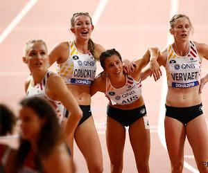 Cheetahs pakken zevende plaats in finale 4 x 400 meter bij de vrouwen