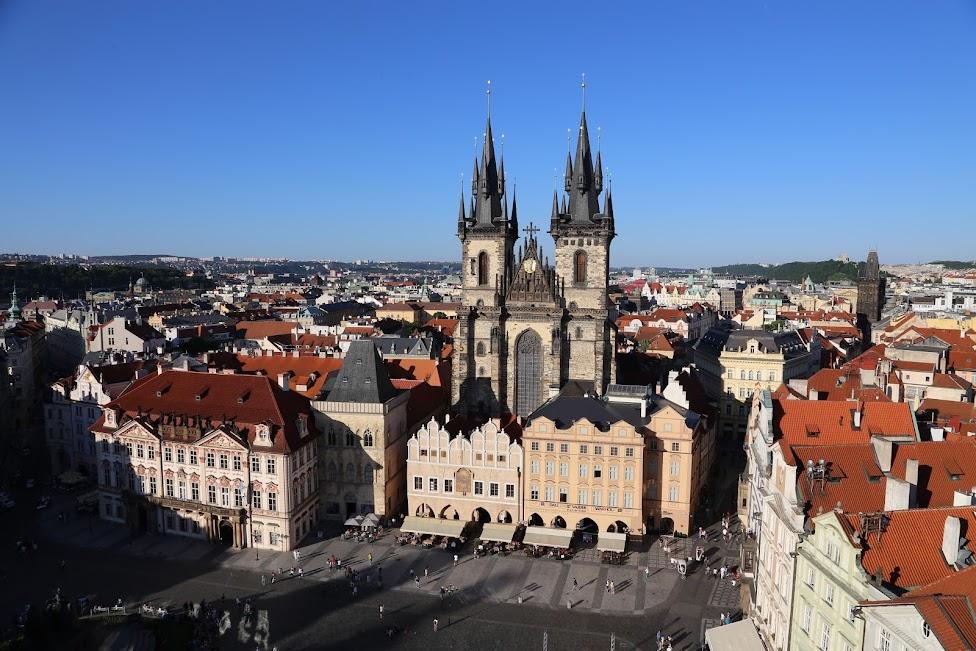Praga, Kościół Najświętszej Marii Panny przed Tynem