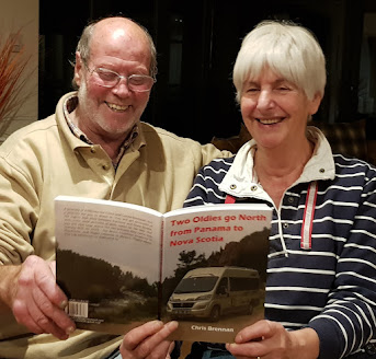 Chris pens book about campervan adventure