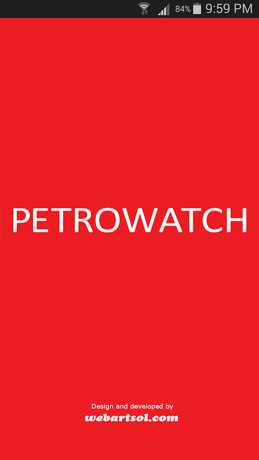 Petrowatch- screenshot