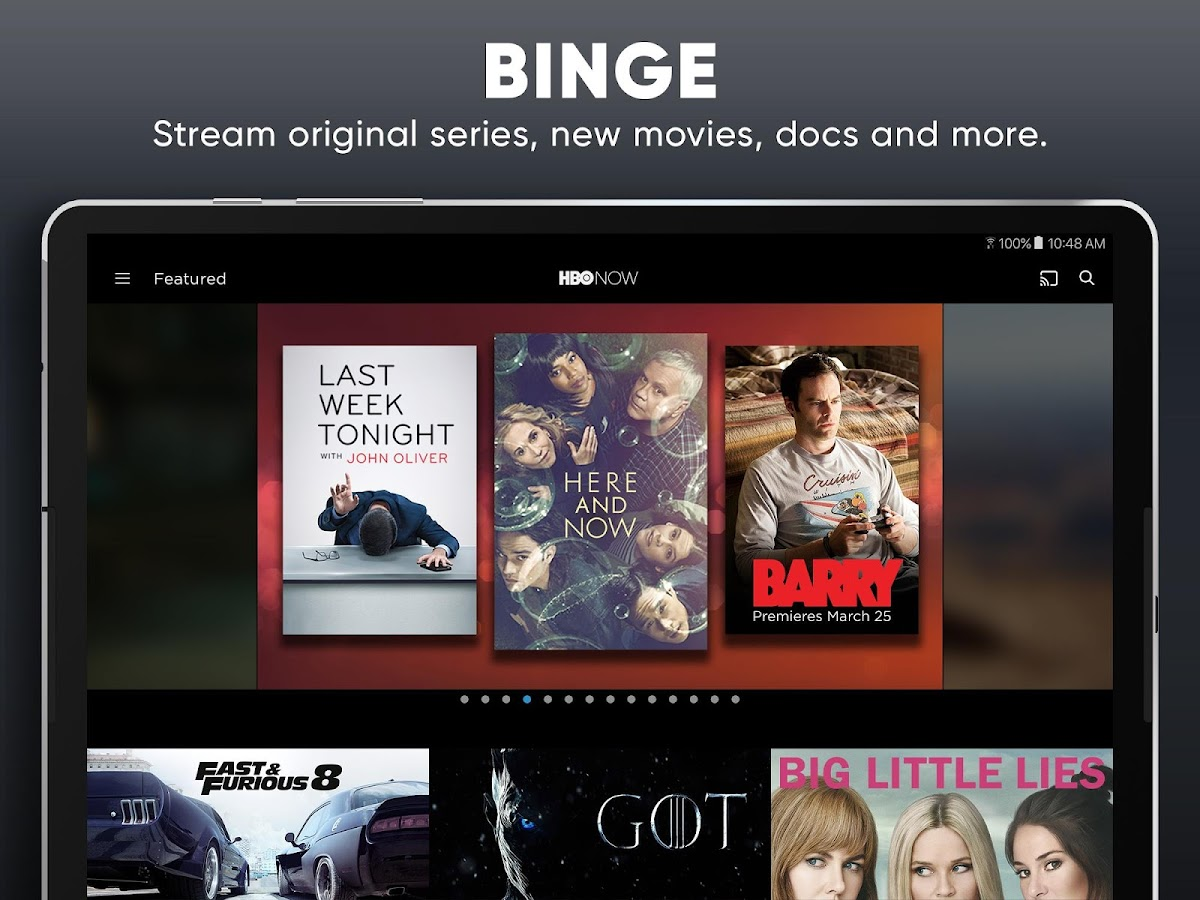 Screenshots of HBO NOW: Stream TV & Movies for iPhone