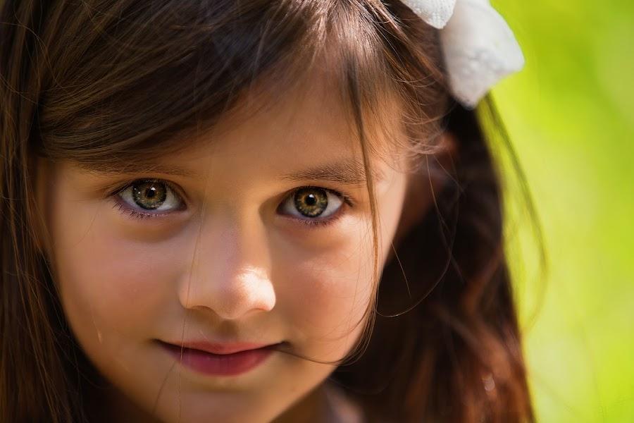 Hurricane Eyes by Salehin Chowdhury - Babies & Children Child Portraits ( babies, girl, lovely, children, cute, eyes, kid )