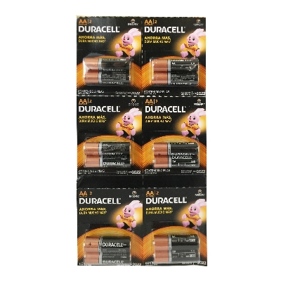 Bateria Duracell Aa Ristra 2und Duracell