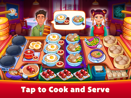 Asian Cooking Star: Crazy Restaurant Cooking Games apkpoly screenshots 8