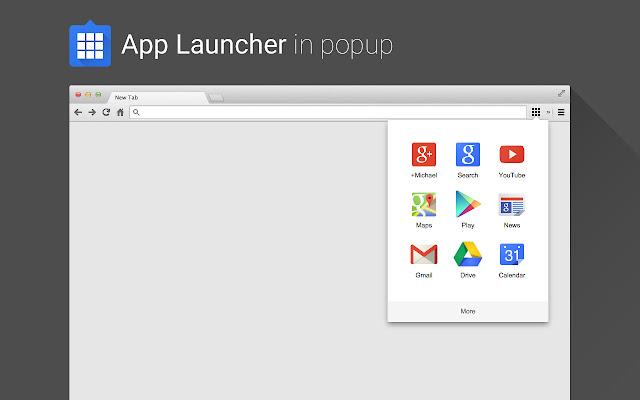 App Launcher in Popup